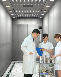 High quality hospital patient bed elevator
