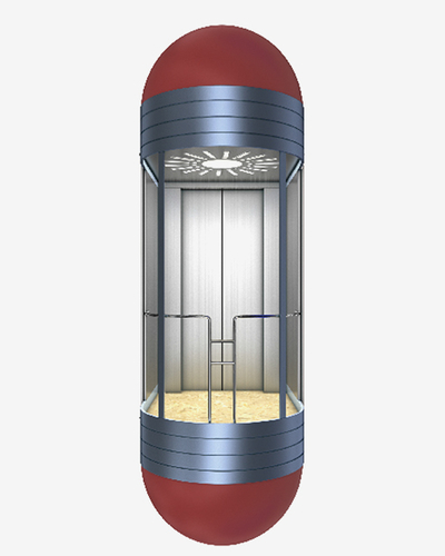 Round Shape Capsule Observation Elevato