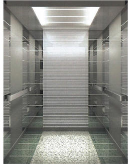Customized residential passenger elevator